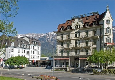 Hotel Carlton-Europe Interlaken - Aussenansicht - Seminarhotelsschweiz - MICE Service Group